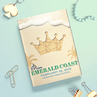Custom Pageant Program Design