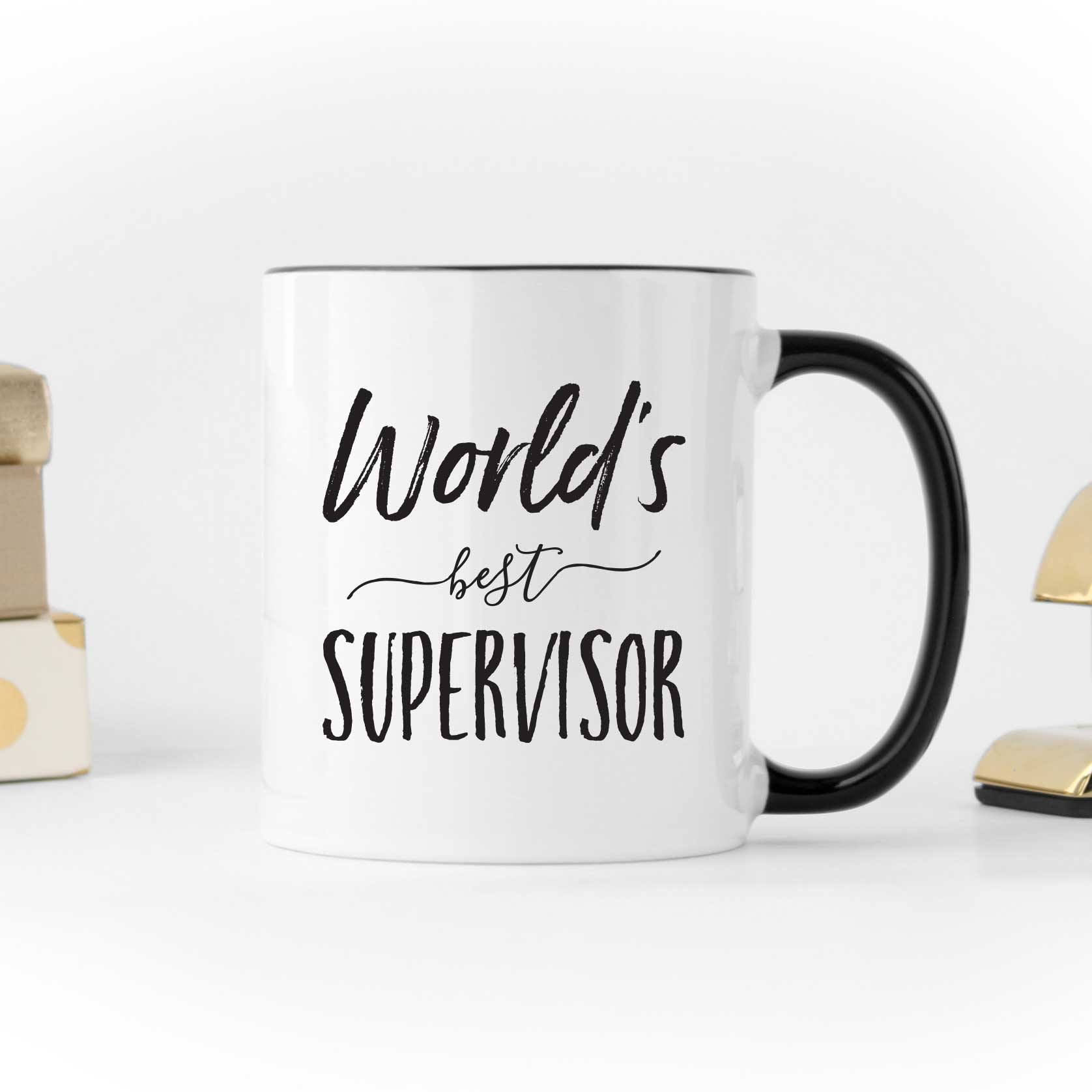 Worlds Best Supervisor Mug